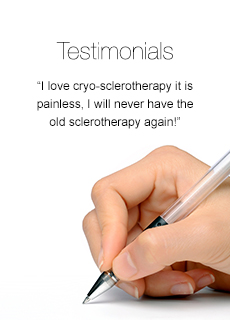 vein treatment center testimonials reviews